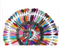 "High quality 50pcs DIY ""DMC color no"" CXC cross stitch Cotton Embroidery Thread Floss Free shipping"