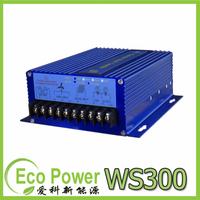 Wind Solar Hybrid Controller for 300W wind turbine+150W/12V (300W/24V)  Solar Panel