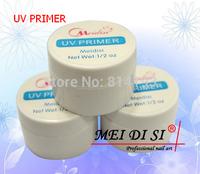 3pcs UV Primer  Top Coat  Base Gel Nail Art Tips Builder Acrylic Polish Set free shipping
