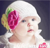 Infant Toddler Beanie baby Hat Cap Crochet Handmade Photography Prop Kid ph G04 FREE SHIPPING
