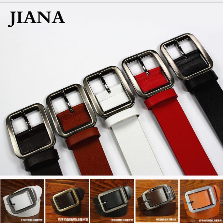 Men's Classic designer belts men high quality retro style Cowskin genuine leather brand hip belt 5 colors male strap cintos(China (Mainland))