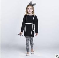 2014 new autunm girls wool coat kids cotton coat girls fashion cashmere cloth