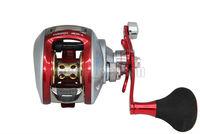 KOREA Red 6BB 7:1 Baitcasting Reel Casting Reels Anti-Saltwater Fishing Reel Free Shipping