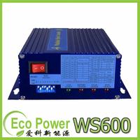 Wind Solar Hybrid Controller for 600W wind turbine+150W/12V (300W/24V)  Solar Panel