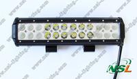 72W aluminium cree truck led light bar 4*4 driving light led working light bar