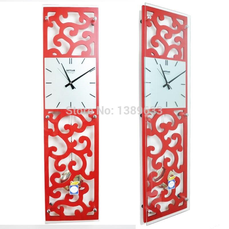 Horloge murale rectangulaire promotion achetez des horloge for Decoration murale rectangulaire