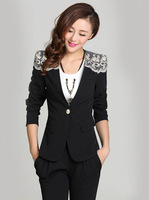 #835#Free Shipping 2014 new arrival autumn fashion women coat single button candy dolour outerwear