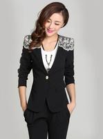 #835#Free Shipping 2014 new arrival autumn fashion women coat single button candy dolour outerwear