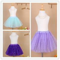 2014 6 Color Hot Skirt Girl Colorful Girls Tutu Skirt Kids Baby Fashion Skirt Children Pettiskirt Free Shipping