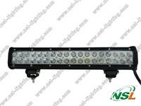 High power 108W led bar working lighting led light bar for vehicles led work light bar