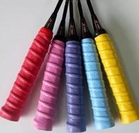 High Quality 12 pcs/lot Kimony KTG102 Tennis Grips Badminton Rackets Grips/Hand Glue,Overgrips,Comfortable Badminton Grip