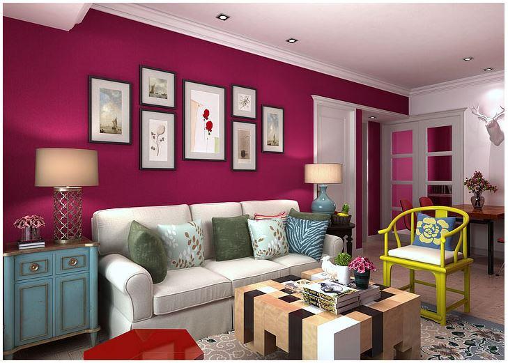 Online kopen wholesale behang effen kleuren uit china behang effen kleuren groothandel - Kleur moderne woonkamer ...