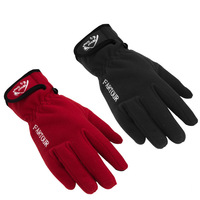 New 2014 Men Winter Polar Fleece Keep Warm Antiskid Outdoor Cycling Hiking Gloves Motorcycle Gloves Embroidery Sport Mittens