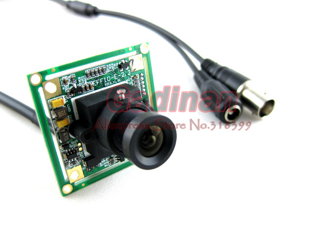 Free Shipping to RU! 700 TVL 3.6mm Lens Color Sony CCD Effio Board CCTV Camera Board with OSD Menu for CCTV Security(China (Mainland))