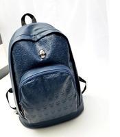 HOT! Fashion PU Skull women Backpack Students School Bag Travel Bag shoulder bags