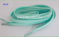 blue night light shoelaces+free shipping 2014