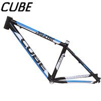"Cube mountain bike 17"" frame bicycle frame ultra-light aluminum alloy 1.58kg"