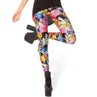 Free shipping! 2014 Fashion Star Digital thin Slim women Leggings wholesale and retail, 22 styles