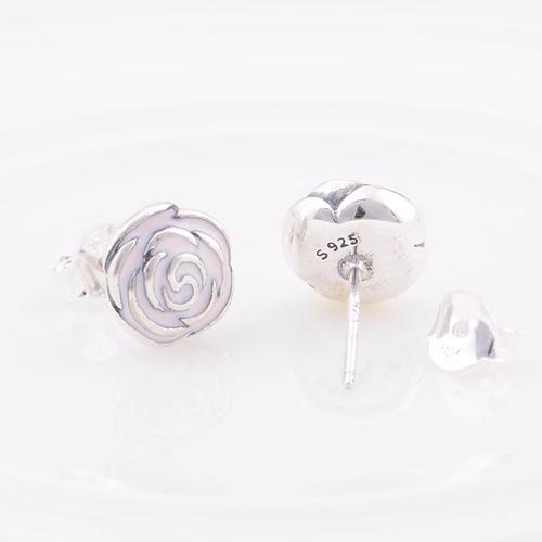 Pandora Rose Garden Earrings Stud Earrings Rose Garden