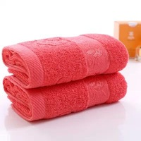 3pcs/lot 100% Cotton Towel 32x72cm for face wash good quality bathroom towels for adults thick towel