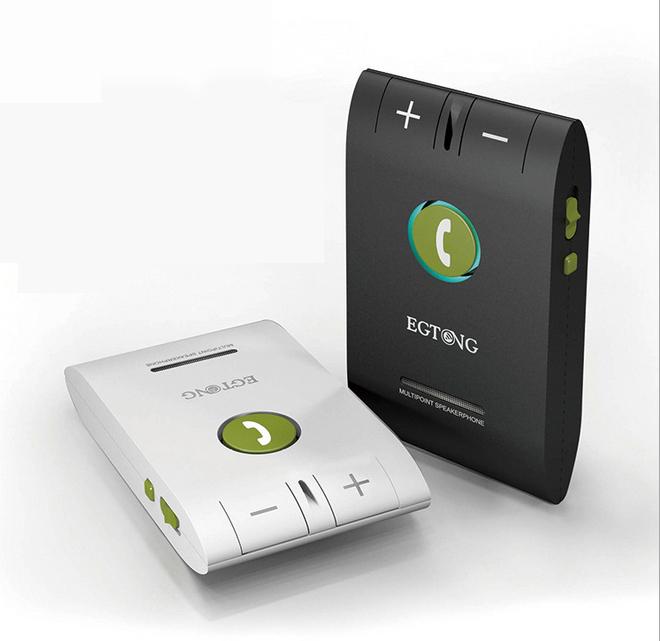 Car Kit Bluetooth Speakerphone EGTONG 6E Handsfree Multifuctional Wireless Music Multipoint Auto Speaker Phone Hands Free 2014(China (Mainland))