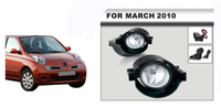 Front Fog Lamp Fog Light Car Accessories for Nissan March 2010