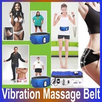 High quality Body 5 motor Vibro 20 health stone 2 kinds of massage mode Slimming Massager Vibrator Waist  Belt Slimming Machine