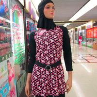 Free shipping Women muslim Swimwear muslim swimsuit Islamic Clothing