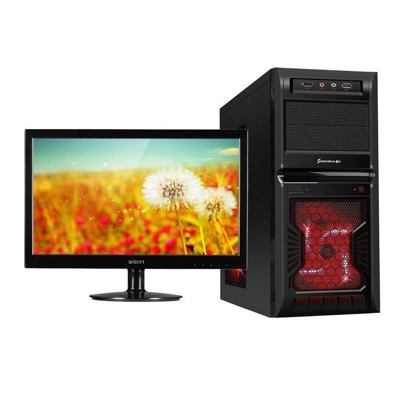 HKC 23 -inch IPS HD 760K 3.8G 2G alone was clocked quad-core desktop machine computer game(China (Mainland))