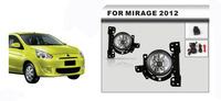 Front Fog Lamp Fog Light Car Accessories for Mitsubishi Mirage 2012