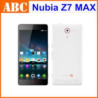 "Original ZTE Nubia Z7 Max Mini lte 4G FDD Android Qualcomm MSM8974AA 2.0GHz 5.0"" FHD 2GB RAM 16GB 13.0MP Camera WCDMA Dual SIM"