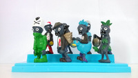 free shipping games models Plants vs. Zombies figures 8 pcs a lot plant vs zombie action anime figure different style