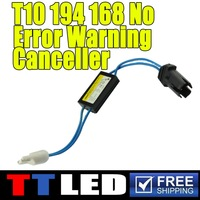 100x t10 canceller warning canceller auto led warning canceller t10 168 194 194NA 2825 921 T15 W5W LED Bulbs #TQ310