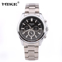 Hot Sales Classic Man Mike Brand Personality Originality Watch  Man All steel Quartz Movement Watch Free Drop Shipping