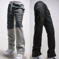 Hot Sale New 2014 Men Sport Pants Regular Fit Sports Harem Pants Bag Jogging Trousers Sweatpants