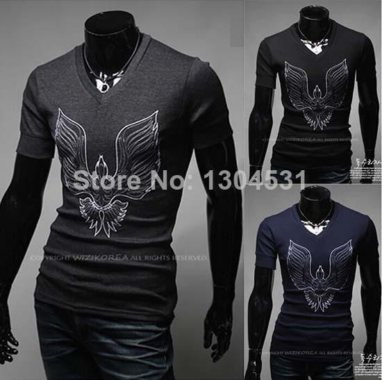 moda homens novos animal print manga curta t- camisa blusa tops camisa casual topo tee camisas tamanho ml xl xxl mn2020101(China (Mainland))