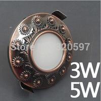50pcs/lot  3W Europe COB ceiling lights  85~100LM/W AC85~265V wholesale diameter 100cm cut size 70-75cm wholesale