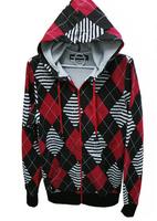 the hoddie hoody with built-in Headphones European American hip hop dance lovers loose coat Winter Fleece thick sweatershirt
