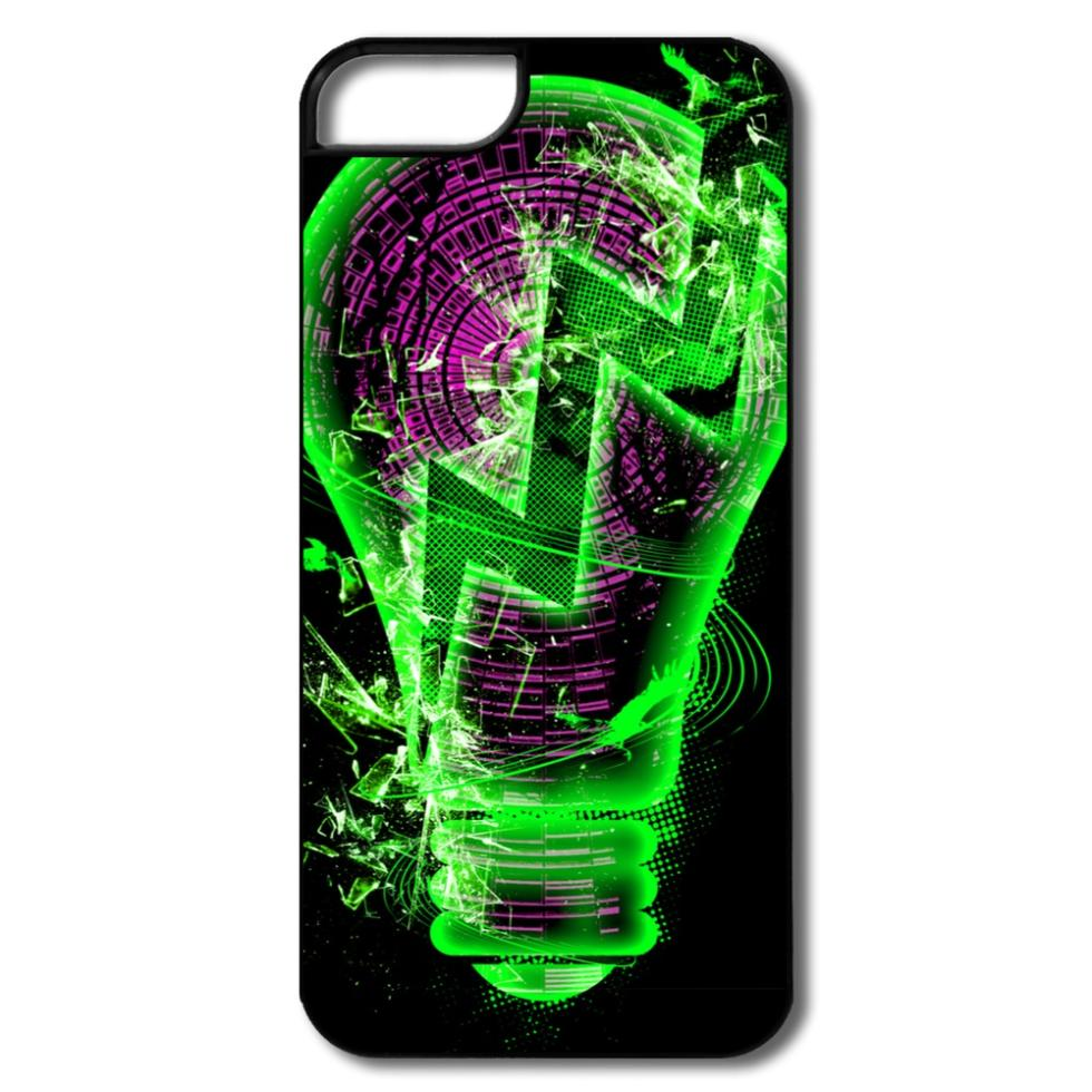 Custom Cover For Iphone 5s Light Bulb Cool Images Cases For Iphone 5s Only 1 Piece(China (Mainland))