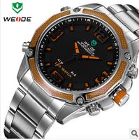 WEIDE brand,Simple business men quartz watch ,watches men luxury brand