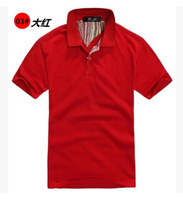 Many colors!SIZE   M L XL XXL XXXL!The new 2014 classic air quality POLO unlined upper garment bag mail!