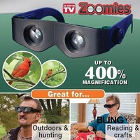 1sets/lot Binoculars Telescope 400% Magnifying Glasses Free CN Post Shipping As Seen On TV Only $5.19