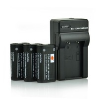 3x CR-V3 CRV3 LB01 Battery +Charger for Olympus SP-500UZ SP-350 D565 C-5050 C-55