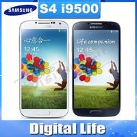 Unlocked Original Samsung Galaxy S IIII SIIII S4 i9500 Quad-core 3G&4G 13MP GPS WIFI 16G Mobile Phone Refurbished