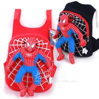 New Character 2014 Cute 3D Spiderman Children Backpacks Baby School Bags For Boys Cartoon Backpack Kids Satchel Mochila Infantil
