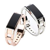 Fashion Bluetooth Smart Bracelet Caller Display Phone Vibration Alert Caller ID Time OLED Display Wireless Bluetooth Wrist Watch