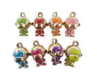 Tops 2014! Fashion Diy Handmade Acrylic Mix Color 31*28mm MonkeyJewelry Accessory Charms Free Shipping!  cy083