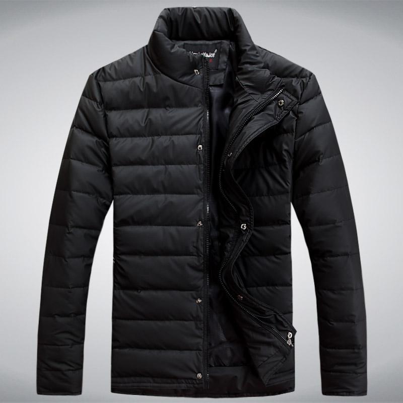 Nuevo 2014 hombres chaqueta abajo 90% pato abajo abrigo de invierno outwear invierno abrigo de envío gratis venta al por mayor y al por menor