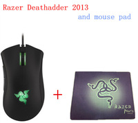 Brand NEW Razer Deathadder 2013, 6400DPI  , Gaming Mouse,Brand New In box,Brand new,+ gift  mouse pad  +Free shipping