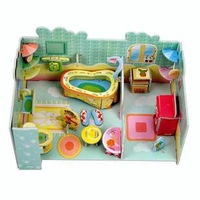 2014 Hot Selling Kids Educational Toys DIY 3D Jigsaw Puzzle For Children 3 Models Free Shipping